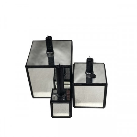 Candle Cube Mirror 3-pk